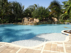 Custom Pool Design by Sammet Pools, Inc.