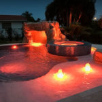Custom Swimming Pools by Sammet Pools in South Florida covering Dade, Broward & Palm Beach Counties