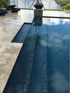 Expertly crafted steps - Custom Pools & Spas by Sammet Pools