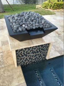 Fire pits, fire features, fire bowls