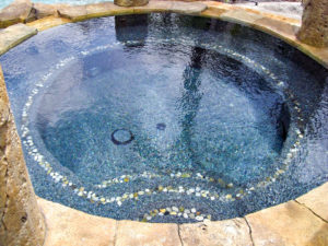 Custom Spa Designed & Built by Sammet Pools