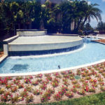 Commerical fountain built by Sammet Pools