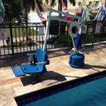 Commerical Pool - diability features built by Sammet Pools