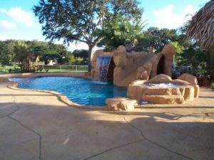 Caves, Faux Rock and Water Features