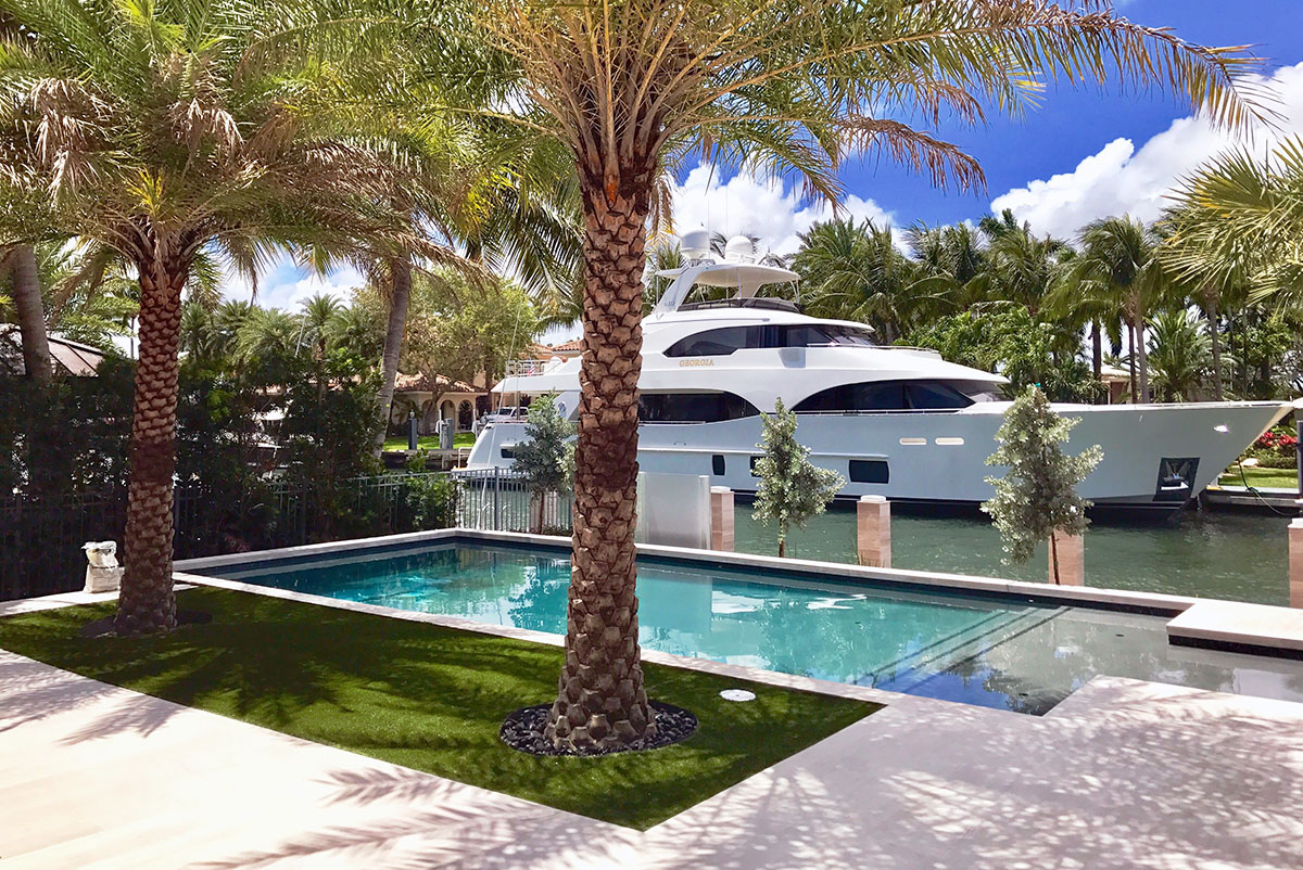South Florida Custom Pools & Spas by Sammet Pools covering Broward and Palm Beach counties