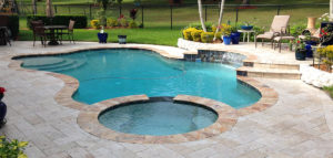 Custom Swimming Pools Designed by Sammet Pools, Inc.