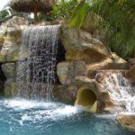 Custom Waterfalls & Rockwork by Sammet Pools